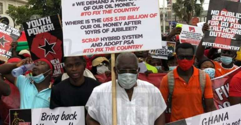 Asylum Down Pastor joins #FixTheCountry demo over low tithes, offerings in his church