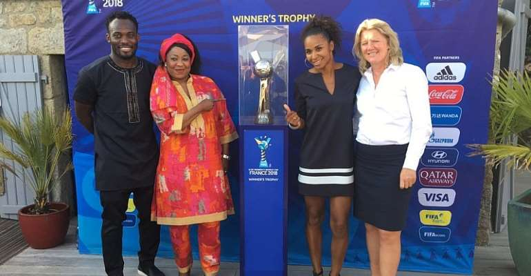 Michael Essien Invited For Opening Ceremony Of FIFA U-20 Women's World Cup
