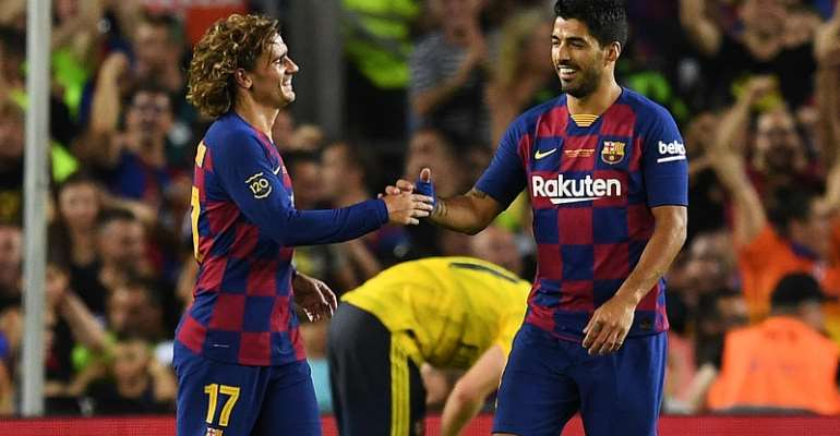 Suarez Sinks Arsenal In Griezmann's Camp Nou Debut