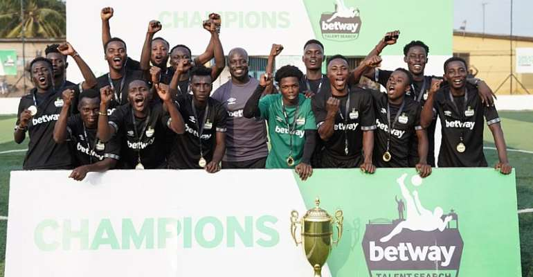 Football: Black Mambas Are 2019 Betway Talent Search Champions