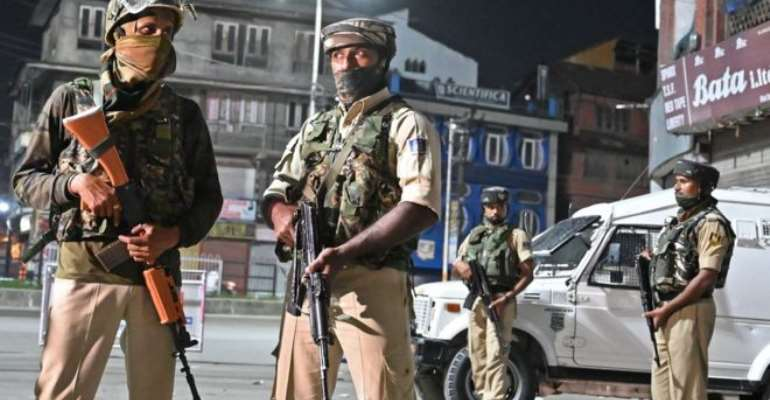 India has deployed tens of thousands of troops to Indian-administered Kashmir in recent days