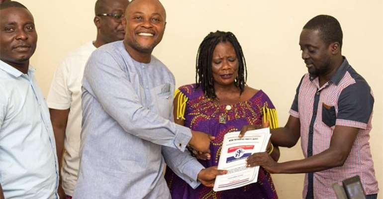 Bernard Anyaa Brown Vows To Win Ablekuma South For NPP