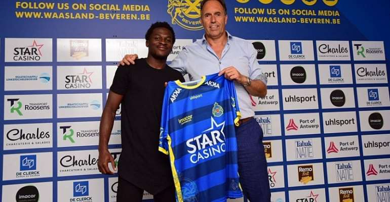 Thomas Agyepong Joins Waasland-Beveren On Loan From Manchester City