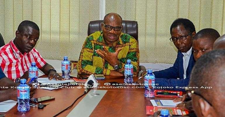 Professor Lydia Nkansah Committee Indict Former Kotoko Management Members?