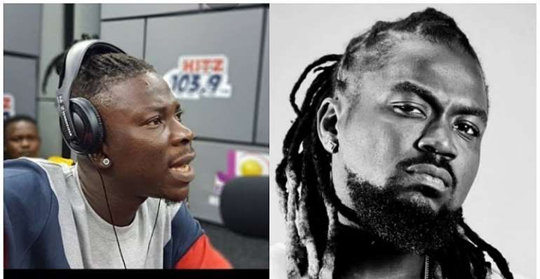 Samini is Ignorant About My Clash With Shatta Wale--Stonebwoy