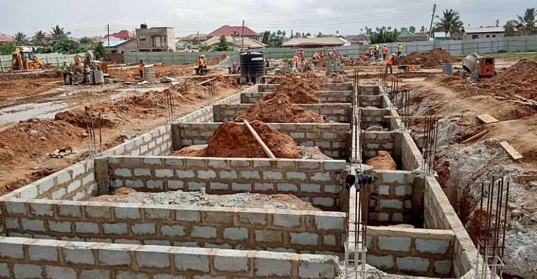 Check Out Latest Pictures From Hearts Of Oak's Pobiman Academy Project