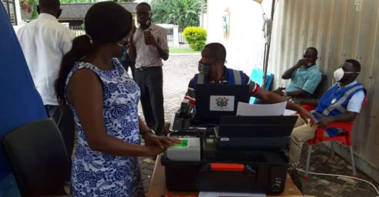 Voter registration: EC To Hold Mop-up Exercise From August 8 – 9