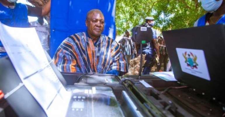 I Will Build A Just Ghana For All To Benefit Equally — Mahama