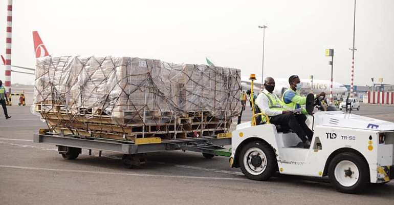 GHS takes delivery of cold chain storage facilities for COVID-19 vaccines