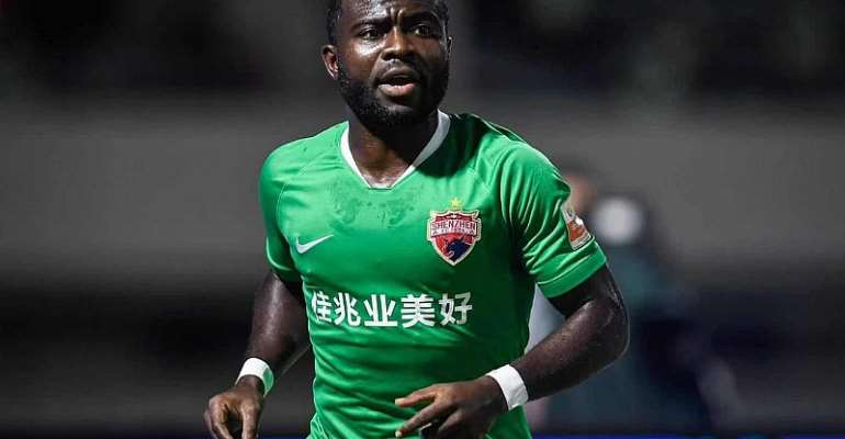 Ghana's Frank Acheampong nets consolation goal for Shenzhen FC in defeat at Shandong Taishan