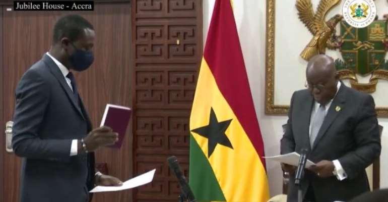 I'll work to suppress, repress corruption – Kissi Agyebeng assure Ghanaians
