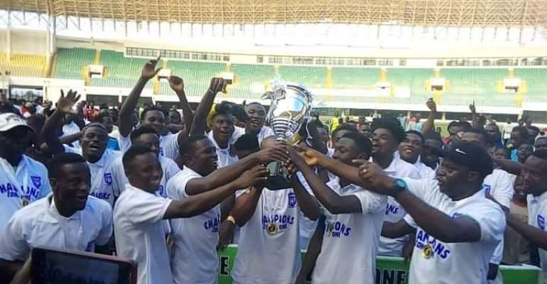 Players and officials of RTU on cloud nine after gaining promotion into the GPL