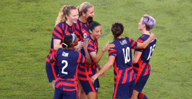 USA hold off Australia in seven-goal thriller to take Olympic bronze