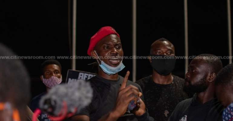 #FixTheCountry demo: 'More to come' – Ernesto Yeboah