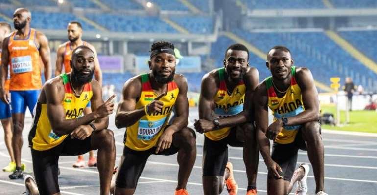 Tokyo 2020 Olympics: Ghana's relay team book 4x100m final spot