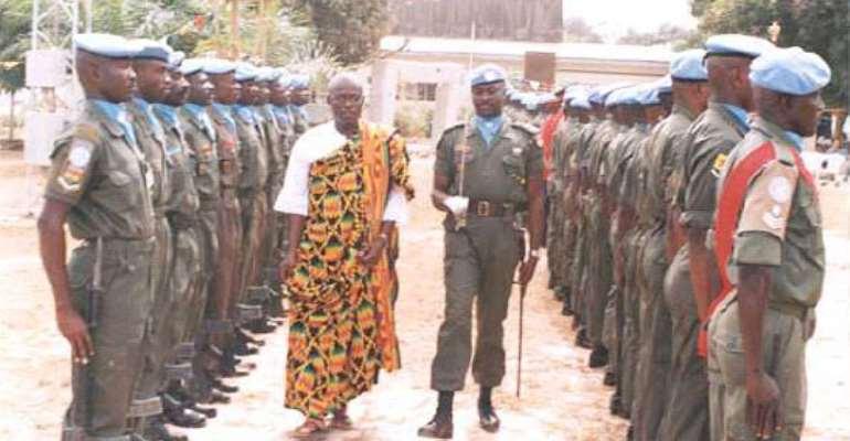 Troops In Sierra Leone Donate $4800 To Dollar Fund