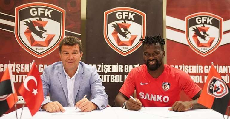 Ghana Midfielder Aziz Tetteh Completes Move To Turkish Side Gaziantep