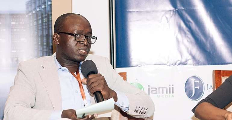 Freelance journalist Erick Kabendera, who is detained in Tanzania. (Jamii Forums)