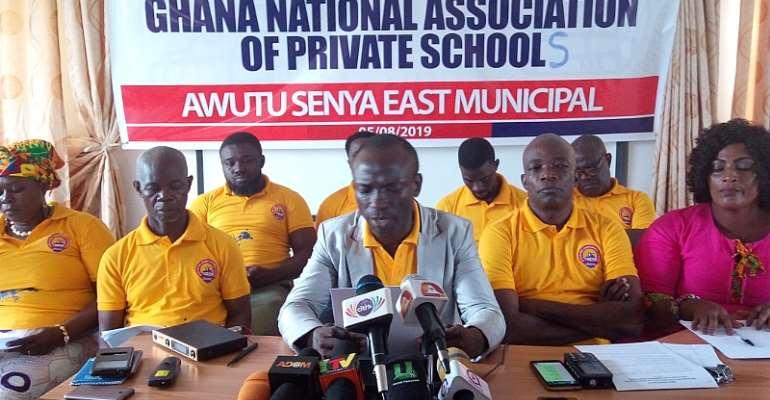 Private Schools In Awutu Senya East Threaten Demo