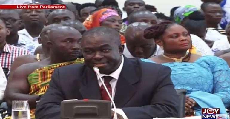 Honorable Kwabena Owusu Aduomi, MP, Ejisu Constituency