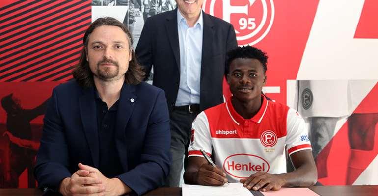Ghanaian Youngster Kelvin Ofori Joins German Club Fortuna Düsseldorf