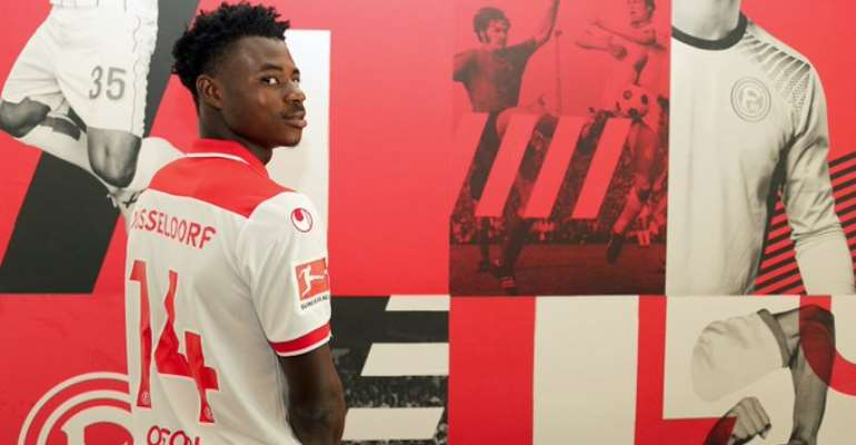 Kelvin Ofori Hoping To Be A Better Player After Completing Fortuna Dusseldorf Move