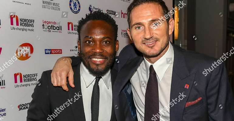 Michael Essien Backs Frank Lampard To Succeed At Chelsea