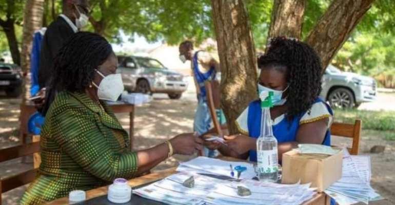 Jane Naana Gets New Voter ID