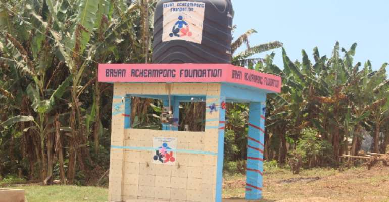 Kwahu East: Bryan Acheampong Foundation Undertakes Borehole Projects