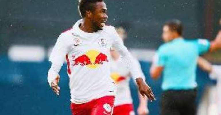 Samuel Tetteh: Ghana international scores for Liefering in Austria
