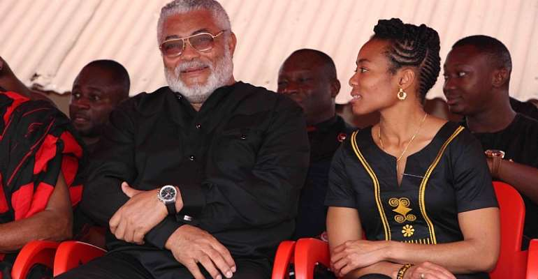 A quick note to Hon. Zanetor Agyemang-Rawlings - To demand that her father be buried at the Asomdwee Park