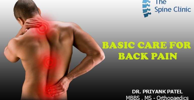 Basic Care For Back Pain
