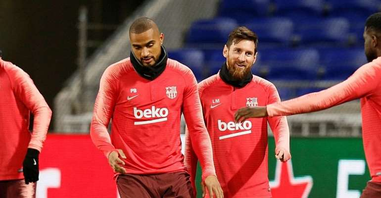 Playing Alongside Lionel Messi Was Worth - KP Boateng
