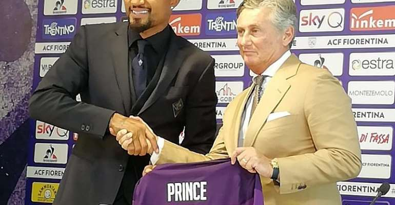 Kevin Prince Boateng Ready To Sacrifice For Fiorentina