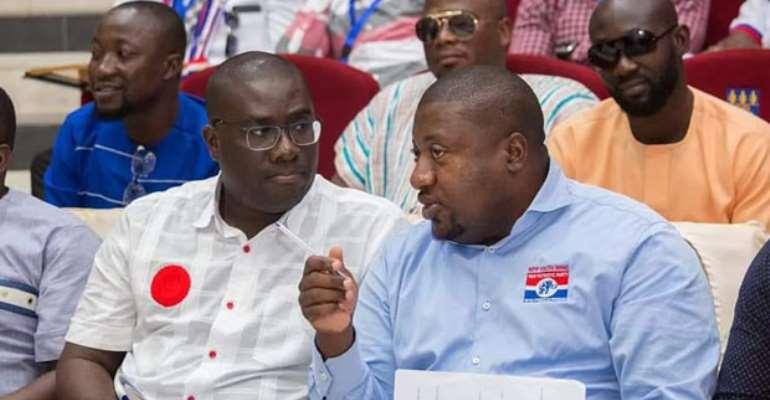 Sammi Awuku and Nana B, strategizing ahead of election 2020