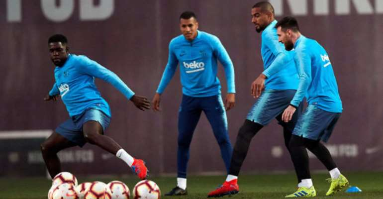 I Am Delighted To Have Played Alongside Messi - KP Boateng