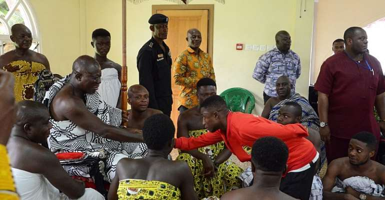 Otumfour Urges Kotoko Players To Sleep At Night After Training [VIDEO]