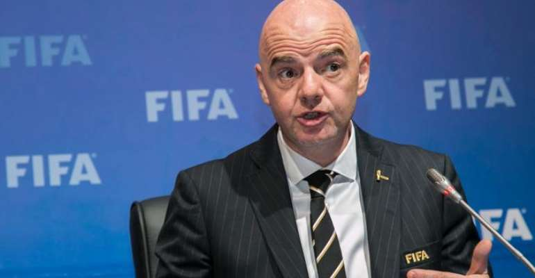 Gianni Infantino's second term as president began in June 2019