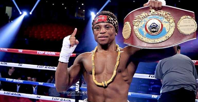 Isaac Dogboe Trolled On Twitter For Disrespecting A Sports Journalist
