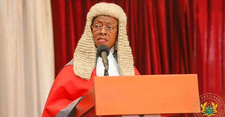 Chief Justice Shuts Down Aflao Courts