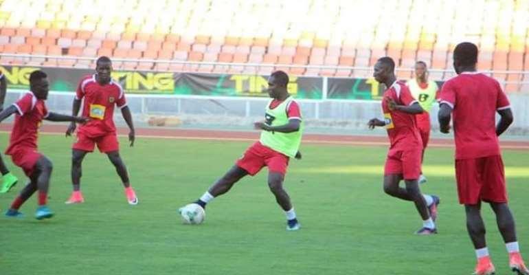 PHOTOS: Asante Kotoko hold training session in Tanzania ahead of Simba friendly