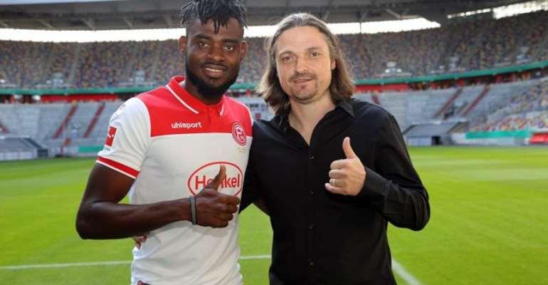 Kasim Nuhu Completes Fortuna Düsseldorf Loan Move