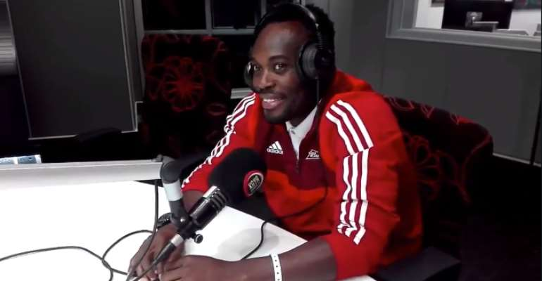 Michael Essien Reacts To Infamous Asamoah Gyan's Penalty Miss In 2010 World Cup [VIDEO]