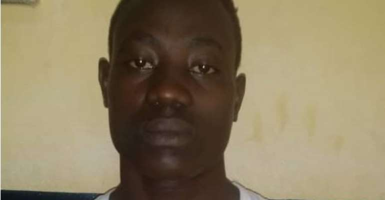 Suspect Fuseini Shamsudeen , arrested for murder