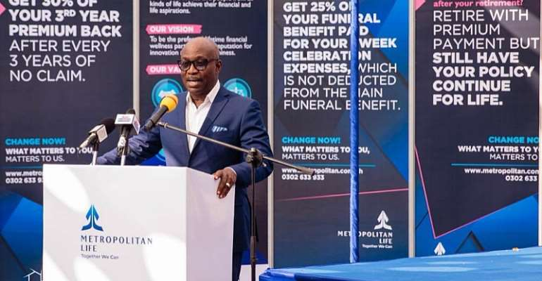Managing Director of Cal Bank, Mr. Frank Adu Jnr
