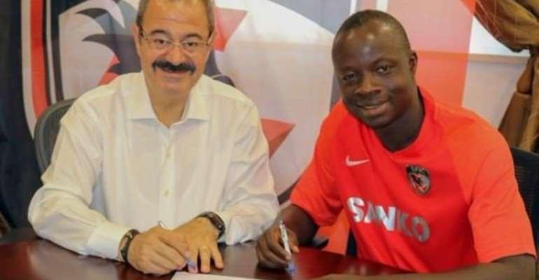 OFFICIAL: Gazişehir Gaziantep F.K. signs Yusif Rahman Chibsah From Frosinone