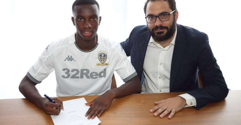 OFFICIAL: Leeds United Sign Eddie Nketia On Loan From Arsenal
