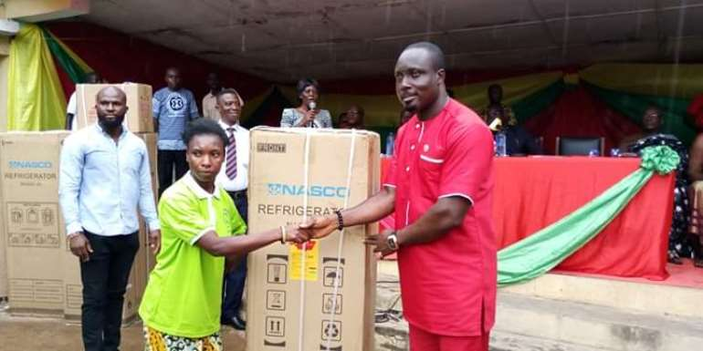 Nzema East Assembly supports people living with disabilities