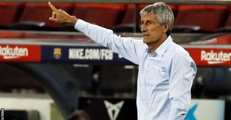 Barca Coach Setien Not Worried Napoli Game Could Be His Last