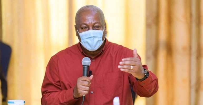 If Anybody Says Mahama Will Cancel Free SHS That Person Is A bloody Liar,  I'll Fix Its Poor Implementation — Mahama
